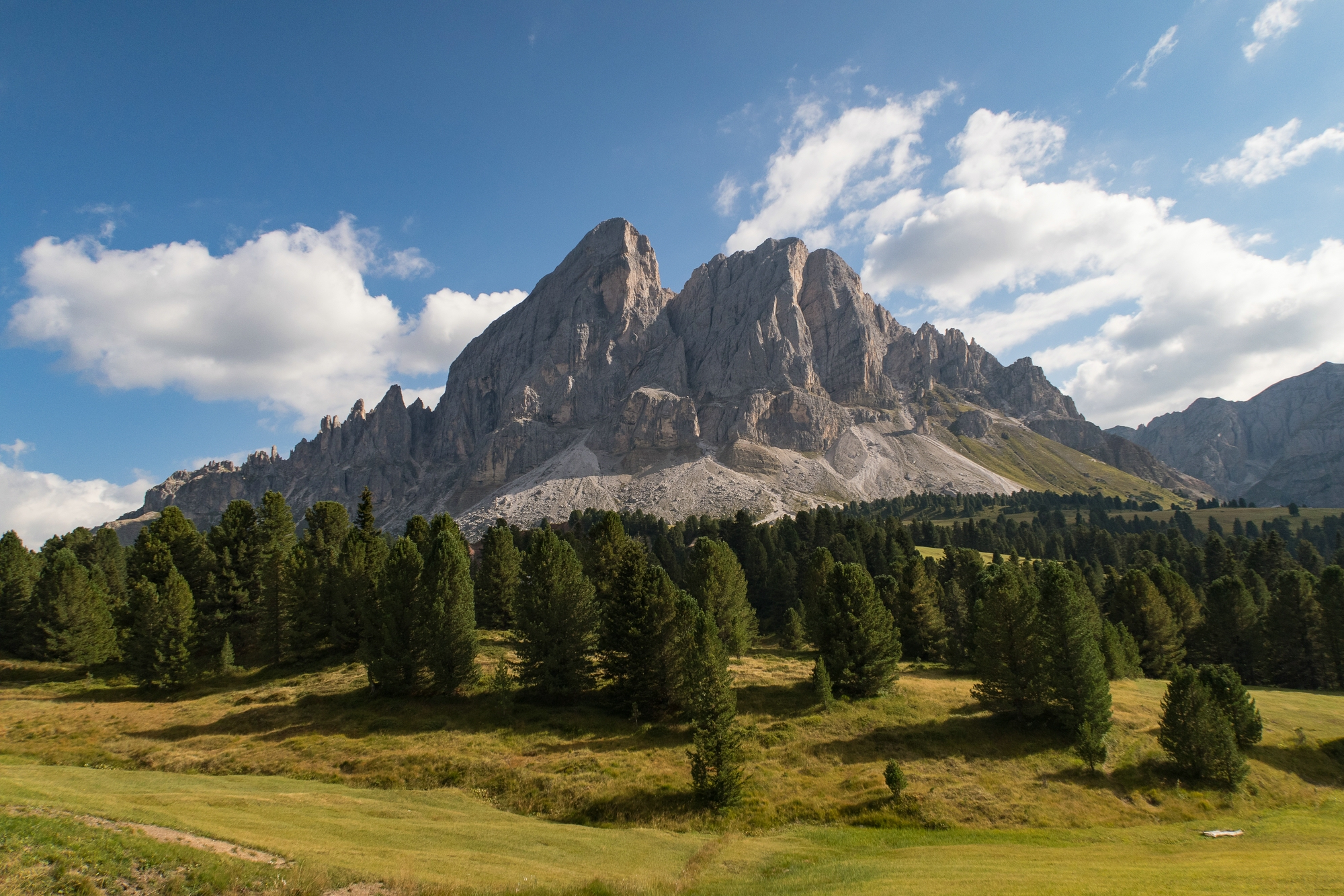 via Würzjoch on the SP29, Dolomites, South Tyrol